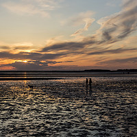 Buy canvas prints of West Kirby Sunset Dreams   by David Chennell