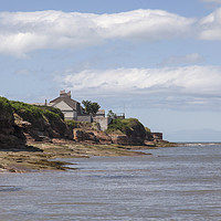 Buy canvas prints of Hilbre Island   by David Chennell
