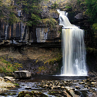 Buy canvas prints of Thornton Force Waterfall   by David Chennell