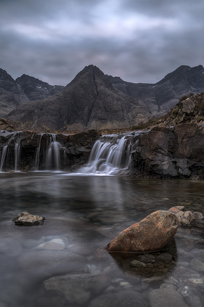 The Fairy Pools at sunrise Canvas print by Miles Gray