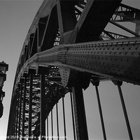 Buy canvas prints of Tyne Bridge by Ray Pritchard