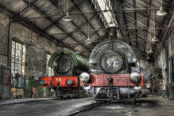 Steam Trains Canvas print by Ray Pritchard