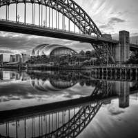 Buy canvas prints of Tyne Bridge by Ray Pritchard
