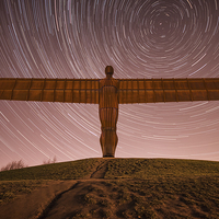 Buy canvas prints of Angel With The Stars by Ray Pritchard