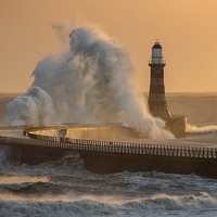 Buy canvas prints of Rough Roker by Ray Pritchard