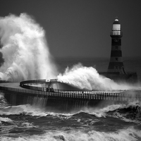 Buy canvas prints of Moody Roker by Ray Pritchard