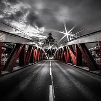 Buy canvas prints of Swing Bridge by Ray Pritchard