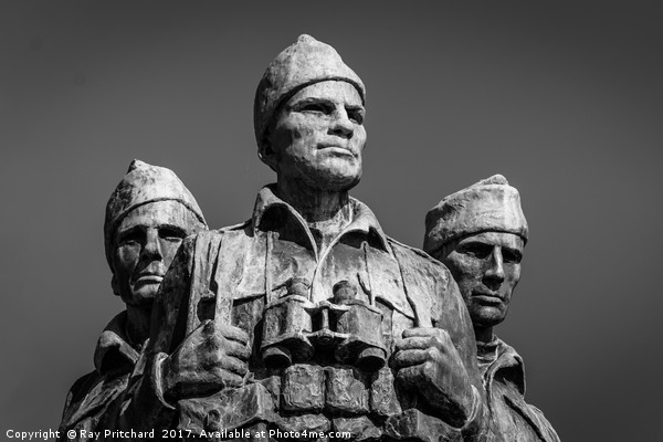 Commando Memorial Canvas print by Ray Pritchard