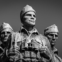 Buy canvas prints of Commando Memorial by Ray Pritchard