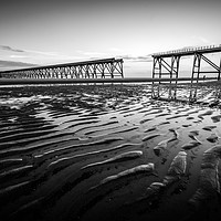 Buy canvas prints of Steetley Pier   by Ray Pritchard