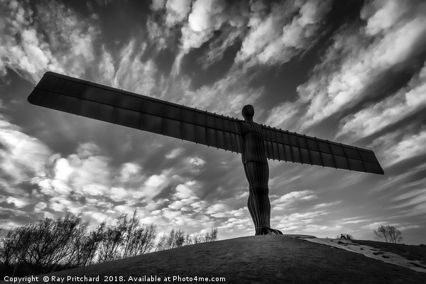 Angel of the North  Canvas print by Ray Pritchard