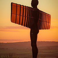 Buy canvas prints of Sunset at the Angel by Ray Pritchard