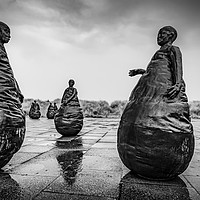 Buy canvas prints of Conversations In The Rain  by Ray Pritchard