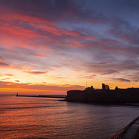 Buy canvas prints of Tynemouth Sunrise by Ray Pritchard