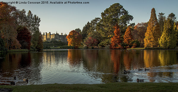 Sheffield Park Framed Mounted Print by Linda Corcoran LRPS CPAGB