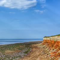 Buy canvas prints of Hunstanton Beach Norfolk by Jacqui Farrell