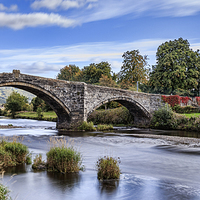 Buy canvas prints of Pont Fawr by chris smith