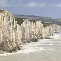 Buy canvas prints of Seven Sisters  by chris smith