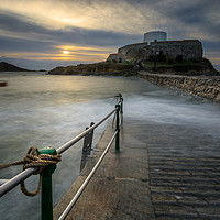 Buy canvas prints of Fort grey Guernsey   by chris smith