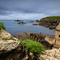 Buy canvas prints of Lizard Point   by chris smith