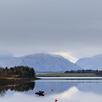 Buy canvas prints of Scottish Loch  by chris smith