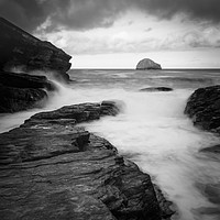 Buy canvas prints of Trebarwith strand             by chris smith