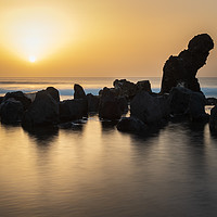 Buy canvas prints of Tenerife sunset  by chris smith