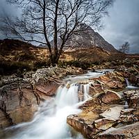 Buy canvas prints of Buachaille Etive Mor, Glencoe, Scotland.   by chris smith