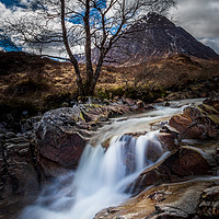 Buy canvas prints of Buachaille Etive Mor  by chris smith