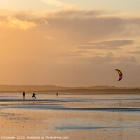 Buy canvas prints of Kites on Camber Sands by Stewart Mckeown