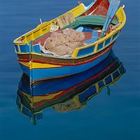 Buy canvas prints of Rowing boat MALTA by Philip Enticknap