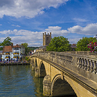 Buy canvas prints of Henley on Thames, Oxforshire , England  by Philip Enticknap