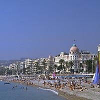 Buy canvas prints of Nice, Cote D'azur,France  by Philip Enticknap