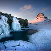 Buy canvas prints of Kirkjufell at Sunset by Peter O'Reilly