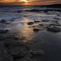 Buy canvas prints of Rest Bay, Porthcawl, South Wales. by Andrew Bartlett
