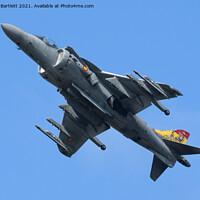 Buy canvas prints of Spanish Navy EAV-8B Harrier II by Andrew Bartlett