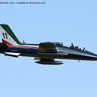 Buy canvas prints of The Frecce Tricolori  by Andrew Bartlett
