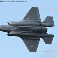 Buy canvas prints of Lockheed Martin F-35B by Andrew Bartlett