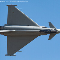 Buy canvas prints of Eurofighter F-2000A Typhoon, Italian Air Force, RSV. by Andrew Bartlett
