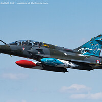 Buy canvas prints of French Air Force, Mirage 2000D by Andrew Bartlett