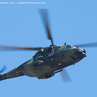 Buy canvas prints of Utti Jaeger Regiment, NH90 TTH, Finnish Army by Andrew Bartlett