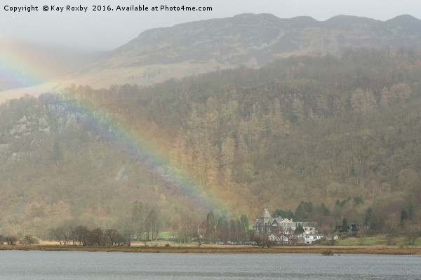Lodore Falls Hotel Derwentwater  Canvas Print by Kay Roxby