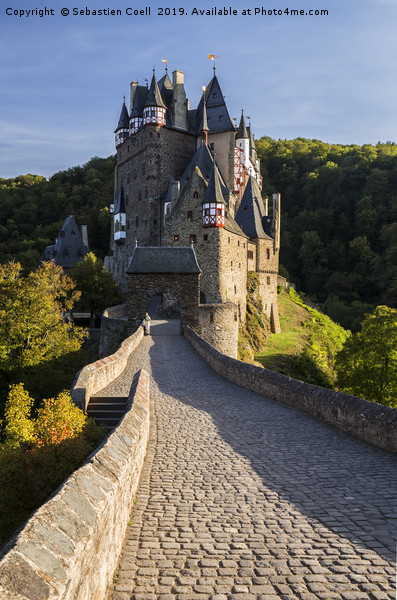 Burg Eltz castle germany Canvas print by Sebastien Coell