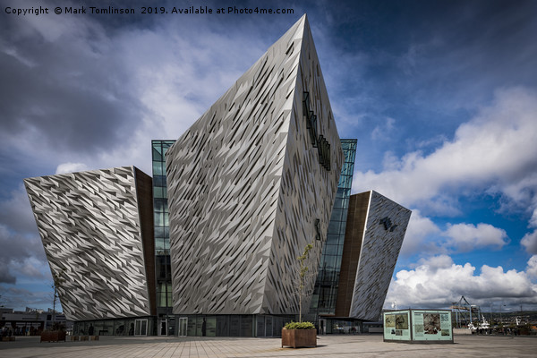 The Titanic Museum, Belfast Canvas print by Mark Tomlinson