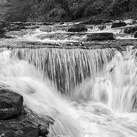 Buy canvas prints of Stainforth Falls, Yorkshire Dales by Tony Sharp LRPS