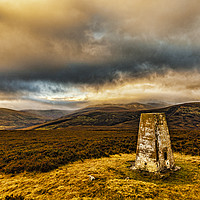 Buy canvas prints of Cheviot Under Cloud from Coldlaw by Reg K Atkinson