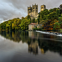 Buy canvas prints of Durham Cathedral by Reg K Atkinson