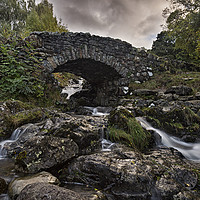 Buy canvas prints of Ashness Bridge by Reg K Atkinson