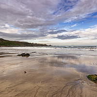 Buy canvas prints of Coldingham Sands by Reg K Atkinson
