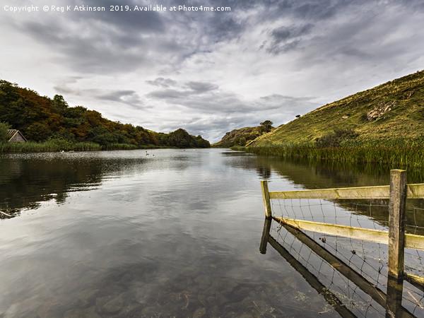 Loch Mire Canvas Print by Reg K Atkinson